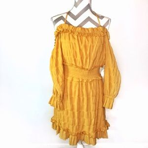 The Jetset Diaries Yellow A Change of Heart dress